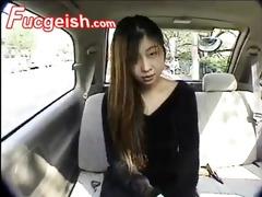oriental bitch shiina receives her hirsute twat