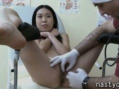 small oriental wet crack exam