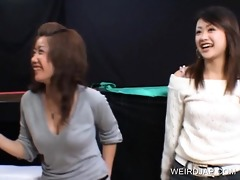 japanese tempting cuties flashing pants upskirt