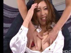 large titty chick ami kurosawa has her consummate