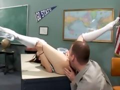 hawt asian schoolgirl in white nylons acquire