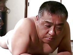 mature oriental lad acquires thrashing