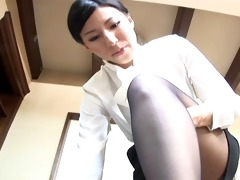 japanese office ladie bonks a lad