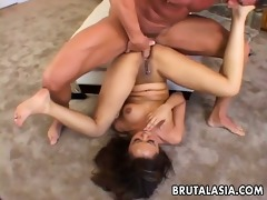 asian skank annie cruz acquires her a-hole fucked