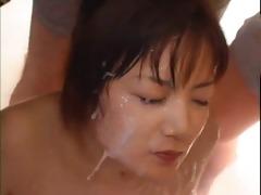 rapid fire - japanese bukkake girl! by