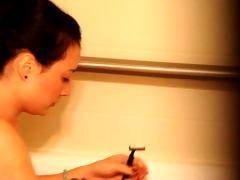 gf shaving in hotel room part 11