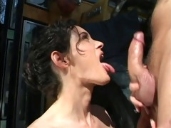 sweetheart in heat showered with cum