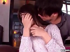 japanese beauties seduce slutty wife at home.avi