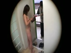 japanese wife flashing delivery lad 0