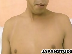 motoyoshi horie - attractive japan lad stroking