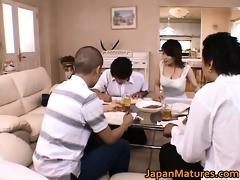 miki sato real oriental mother
