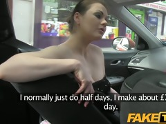 faketaxi posh woman pays good cash for a fuck