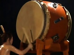 zenra in nature taiko drums