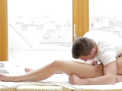 nubile films - sensual massage turns to sexy fuck