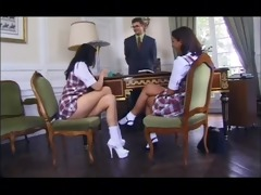 schoolgirls karen lancaume & coralie trinh