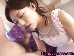 ririka hot japanese bitch sucks a schlong part8
