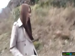 japanese hawt gal receive outdoor hard sex clip-92