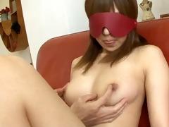 japanese yuu blindfolded fingered and drilled