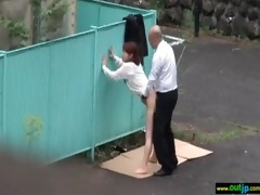japanese excited beauty love outdoor sex movie-410