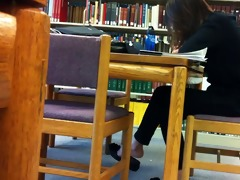 candid oriental library feet shoeplay flats