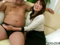 unshaved old asians make out rub take up with