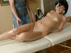 arousing a nasty oriental pussy