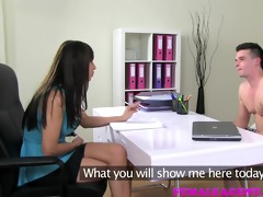 femaleagent selfish fellow upsets agent with
