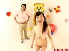 japanese av model tastes her own bawdy cleft