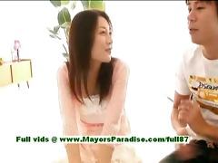 mai uzuki virginal busty oriental sweetheart gets