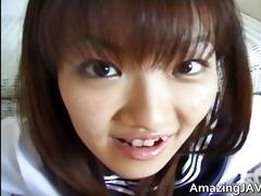hawt oriental schoolgirl engulfing rod part0