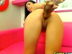 oriental chick enjoys her 211 inch sex tool hd
