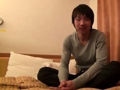 satoshi - ambisextrous athlete jerks off