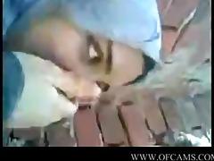 arab angel giving a kiss boyfriend brunettes c