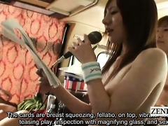 subtitled nudist japanese av stars bus game ice