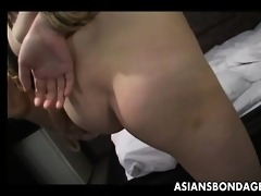 curvy babe bound up and paddled on the ass