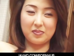 asain sexy mother i goes stripped for three-some