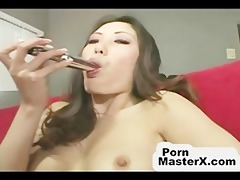 oriental chick receives screwed in all holes