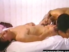 a vintage japanese homo movie