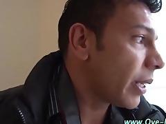 hawt latino honey sucks cock