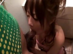 japanese hot beauty is drilled in toilet-by