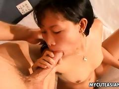 non-professional oriental sucks then copulates a