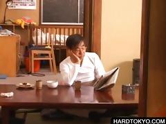 oriental students sharing concupiscent shlong