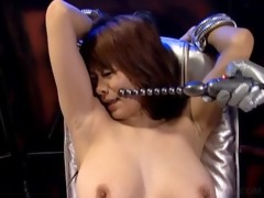 asian slave getting marangos and pussy toyed