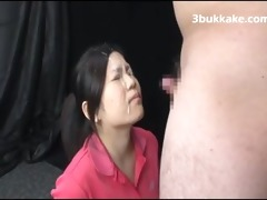 asians blasted with cum facual cumshots - japanese