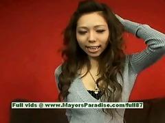 misa tsuchiya virginal chinese beauty is posing