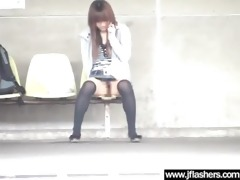 oriental undress outdoor in public and acquire