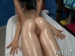 asian massage clip scene