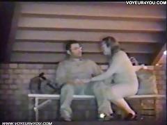 outdoor pedestrian sex couples