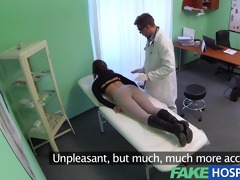 fakehospital flawless breasty slim patient can