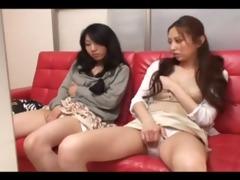 japanese lesbo sisters av temptation